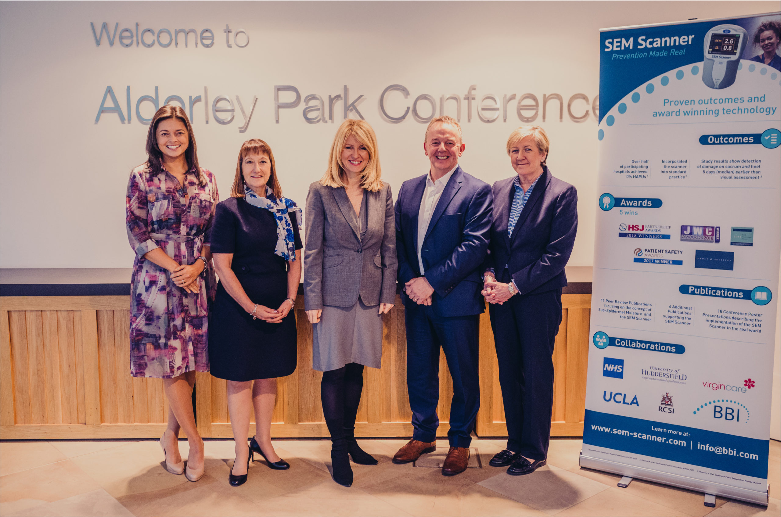 The BBI team were delighted to welcome Esther McVey, Member of Parliament for Tatton, UK, to Alderley Park recently.
