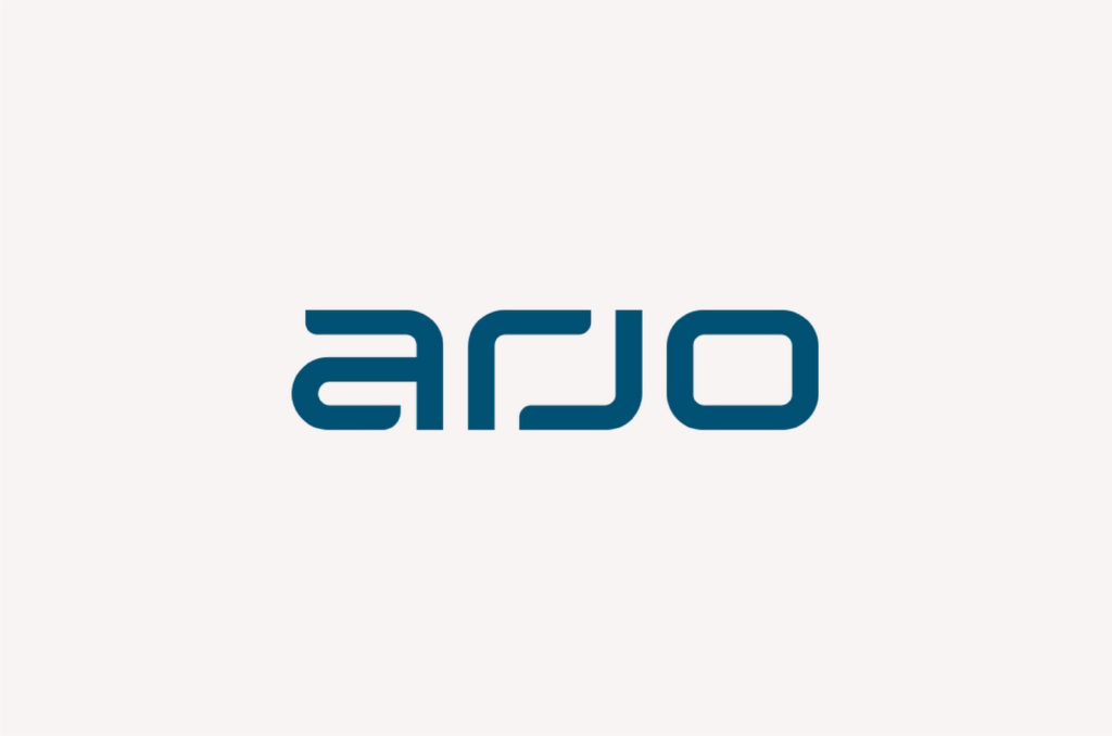 Logo for Arjo Australia who have signed a joint marketing agreement with BBI (Europe) Ltd