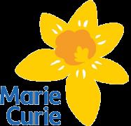Marie Curie yellow daffodil logo