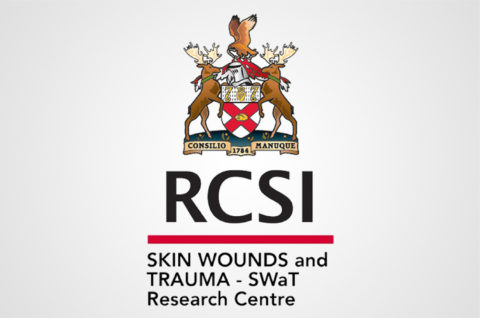 Logo for Skin Wounds, and Trauma (SWaT) Research Centre at RCSI (Royal College of Surgeons in Ireland)
