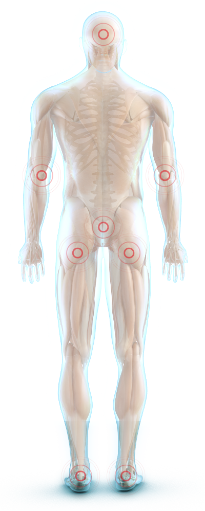 Glassman pressure point indictaors