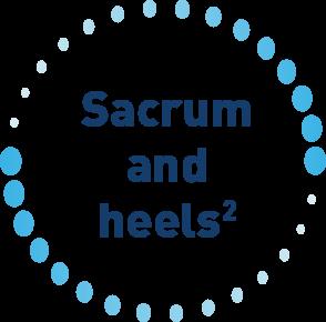 Sacrum and heels